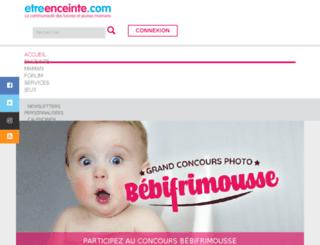 bien-etre.etreenceinte.com screenshot