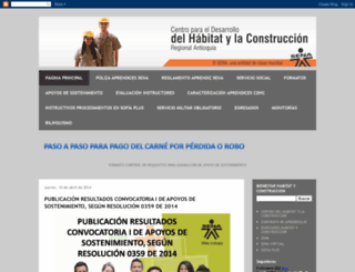 bienestarhabitatyconstruccion.blogspot.com screenshot