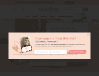 bienhabillee.com screenshot
