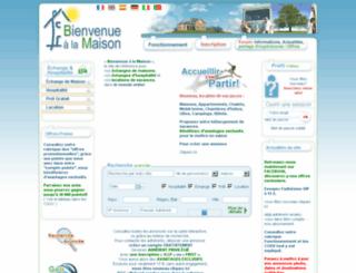 bienvenuealamaison.org screenshot