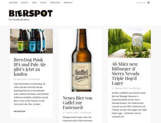 bierspot.de screenshot