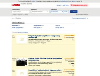 biesiekierz.lento.pl screenshot