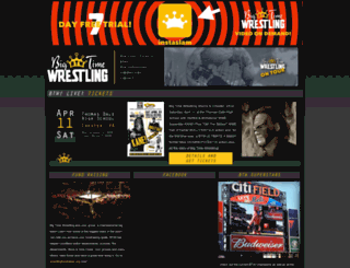 big-time-wrestling.com screenshot