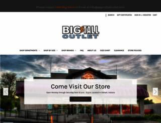 bigandtalloutlet.com screenshot