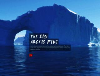 bigarcticfive.com screenshot