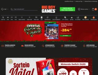 bigboygames.com.br screenshot
