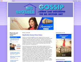 bigbrothergossip.com screenshot