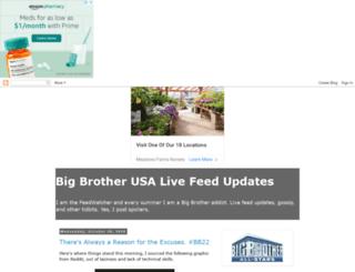 bigbrotherlivefeedupdates.blogspot.ca screenshot