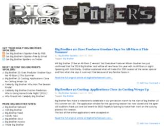 bigbrothersspoilers.com screenshot
