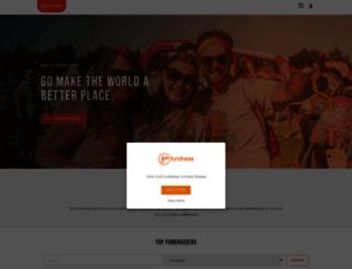 bigcakebake2013.gofundraise.com.au screenshot