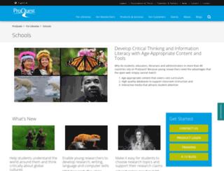 bigchalk.com screenshot