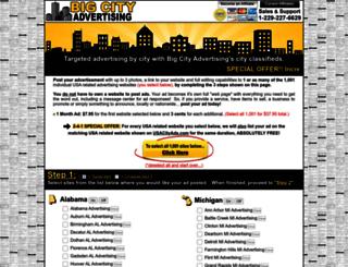 bigcityadvertising.com screenshot