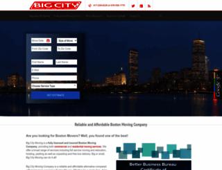 bigcitymovingco.com screenshot
