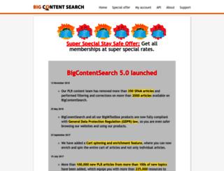 bigcontentsearch.com screenshot