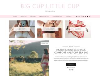 bigcuplittlecup.net screenshot