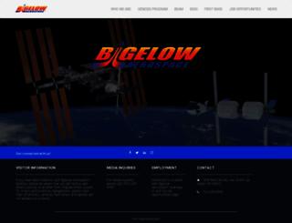bigelowaerospace.com screenshot