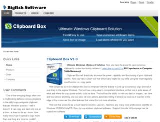 bigfishsoft.com screenshot