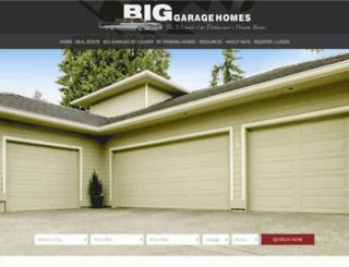 biggaragehomes.com screenshot