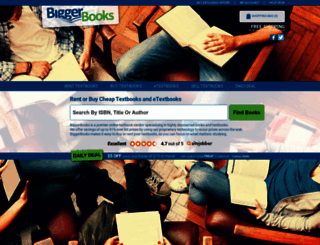 biggerbooks.com screenshot