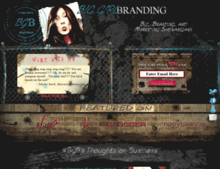 biggirlbranding.com screenshot