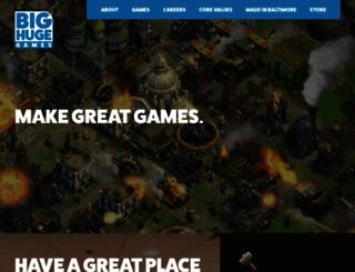 bighugegames.com screenshot