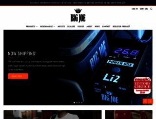 bigjoestompboxcompany.com screenshot
