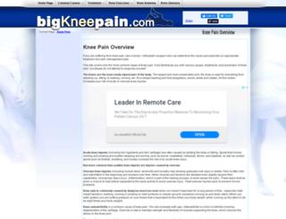 bigkneepain.com screenshot