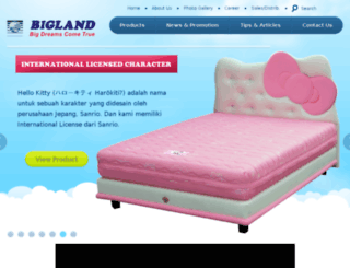 bigland.co.id screenshot