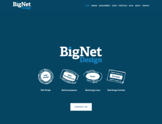 bignetdesign.com screenshot