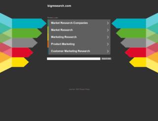 bigresearch.com screenshot