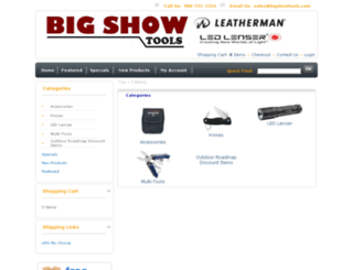 bigshowtools.com screenshot