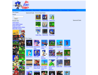 bigsonicgames.com screenshot