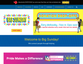 bigsunday.org screenshot