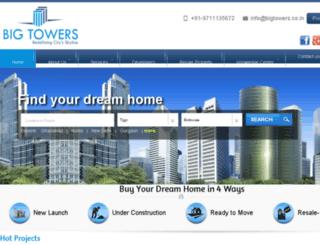 bigtowers.co.in screenshot