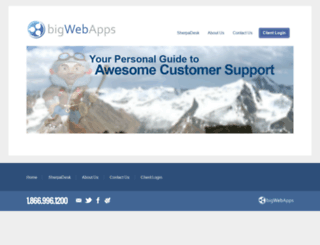 bigwebapps.com screenshot