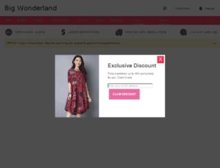 bigwonderland.com screenshot