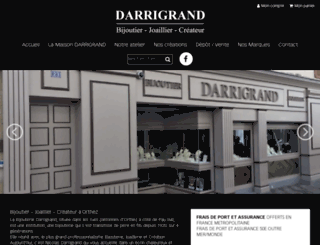 bijouteriedarrigrand.fr screenshot