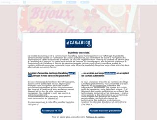 bijouxetbabioles.canalblog.com screenshot