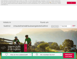 bike.suedtirol-reise.com screenshot