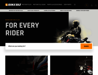 bikebiz.com.au screenshot