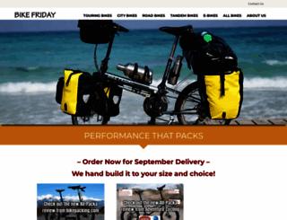 bikefriday.com screenshot