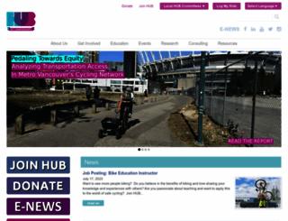 bikehub.ca screenshot