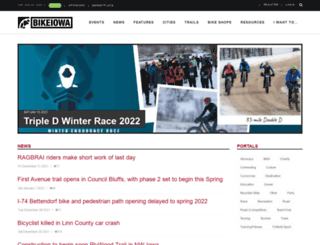 bikeiowa.com screenshot