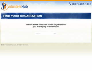 bikenewyork.volunteerhub.com screenshot