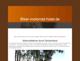 biker-motorrad-hotel.de screenshot