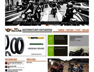 biker.ee screenshot