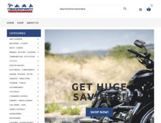 bikerparts-superstore.com screenshot