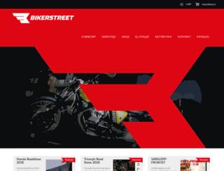 bikerstreet.no screenshot