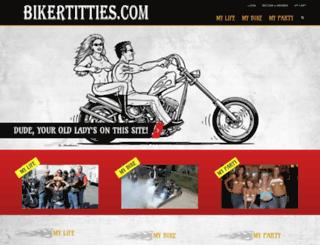 bikertitties.wpengine.com screenshot
