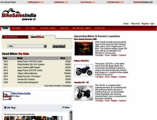 bikesalesindia.com screenshot
